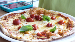 Celebrating a family birthday (Sandy Austin) Tags: sandyaustin westauckland auckland northisland newzealand newlynn pizza