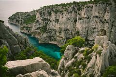 Calanque d'En Vau 2 (mhoechsmann) Tags: 2018 calanquedenvau europe france mediterranean midday ocean sea travel