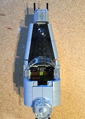 Lego B-24 WIP - 01 (Lt. SPAZ) Tags: lego b24j bungay buckaroo wip consolidated allies bomber b24 nose cockpit wwii world war ii