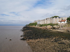 View from Clevedon Pier (Dubris) Tags: england somerset clevedon clevedonpier seaside coast lowtide
