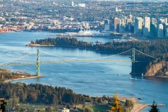 Lion's Gate Bridge (zxorg) Tags: vancouverbc downtown downtownvancouver lionsgatebridge lionsgate bridge stanleypark pacificocean