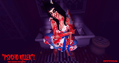 PSYCHO KILLER #APC (Hayyz Heavenly Photography) Tags: halloween adamsphotochallenge blogging backdrop blogger scene secondlife secondlifeblogger style secondlfe sharing
