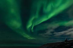 A Break in the Clouds (stevegilliesphotography) Tags: baffinisland iqaluit northernlights astrophotography auroraborealis green lights nature night nightphotgraphy travel nunavut canada ca aurora winterbeauty