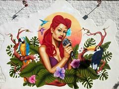 Wall Decoration Seville (saxonfenken) Tags: 1096s 106 walldecoration seville spain grafitti