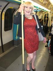 Taking The Tube Home (rachel cole 121) Tags: tv transvestite transgendered tgirl crossdresser cd