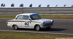 Ford Lotus Cortina 1965 (XBXG) Tags: rené wallner ford lotus cortina 1965 fordcortina historic grand prix 2018 circuit park zandvoort cpz race track motorsport nederland holland netherlands paysbas vintage old classic british car auto automobile voiture ancienne anglaise brits uk vehicle outdoor