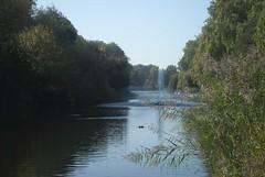 Across the lake (dwimagesolutions) Tags: england london stjamespark autumn indiansummer nikond200 zoomnikkor1870mmf3545