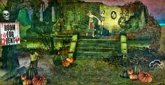 ROOM for Rent, ahahah (Max McMahon) Tags: halloween ruin house irrisistible shop mesh build sl second life