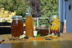Общая_напитки-DSC_1976 (info@oxumoron.com) Tags: напитки refreshments getränk лемон lemon zitrone ginger ingwer erdbeeren strawberry мёд honey honig корица cinnamon zimt
