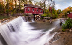 449 (iv1984) Tags: morningstar mill st catharines waterfall ontario canada hdr landscape long exposure omd olympus 918mm em10 autumn fall