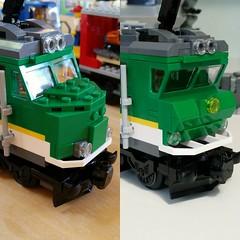 Yesterday at Legoworld 2018 I made a nice deal and got myself the new cargo train 60198. I doubted a bit because the loc itself is really ugly. So that required a change. Looking a lot better already.  #makingprogress #enjoying #aawsummocslego #lego #moc (Aawsum MOCs Lego) Tags: legotrain bricknetwork toyphotography afol legotrains bricklife legoworld lowlug enjoying wip brickphotography legostagram legobuild layout makingprogress legocity legocitylife legomoc legolayout moc lego aawsummocslego