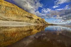 Ballerina Lake (pauldunn52) Tags: traeth mawr glamorgan heritage coast wales cliffs limestone reflections