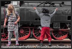 "Dance With Me ! ("" Wiener Schule "") Tags: eisenbahn railway railroad dampf steam lok lokomotive loco triebwerk wheels räder austria locomotive dampflok"