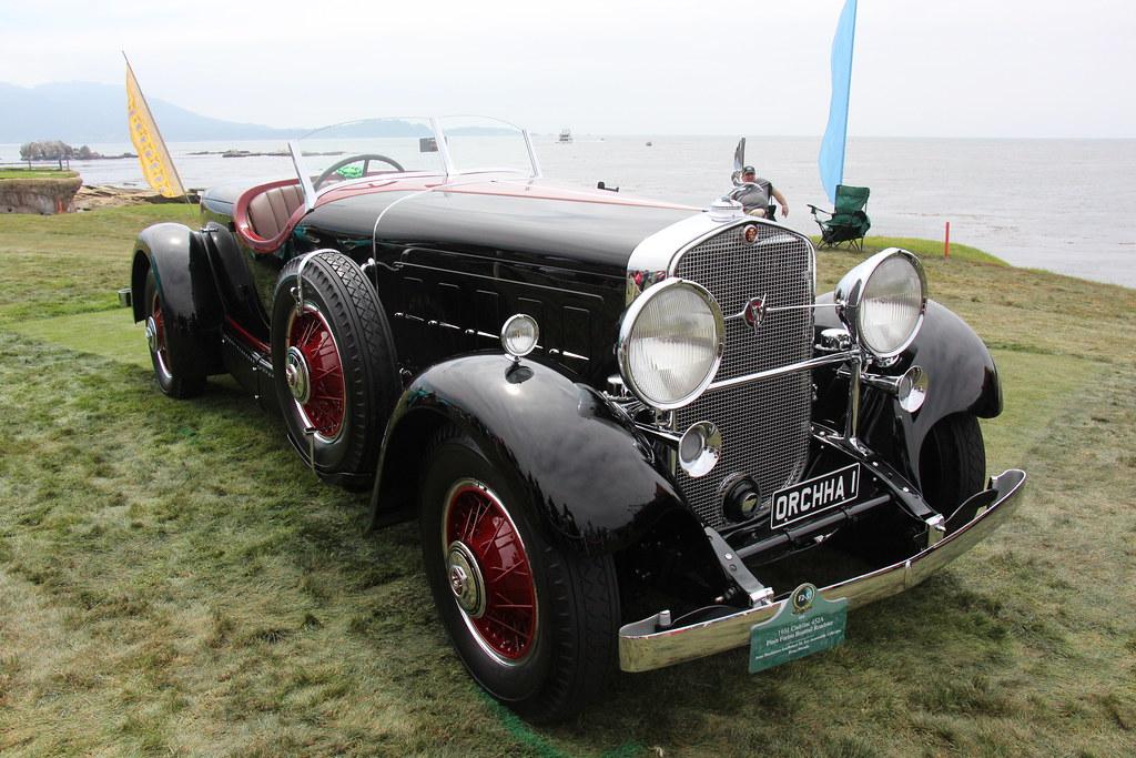 1931 Cadillac 452A Pinin Farina Boattail Roadster