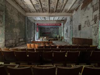 Pripyat - Abandoned military building