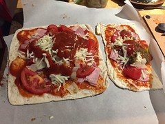 HomeMade Pizza Ready for the oven (Weldon Alley) Tags: pizza home cook food delicious