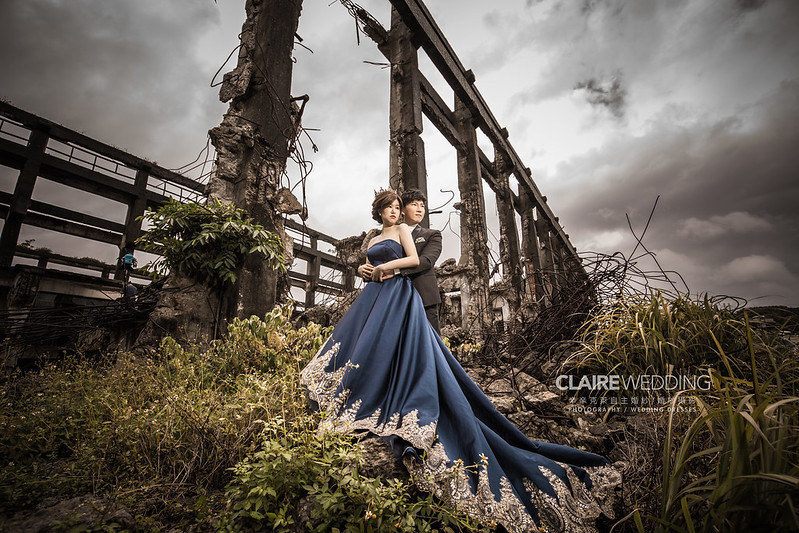 台灣婚紗旅拍,基隆,阿根納造船廠,婚紗攝影,婚紗相