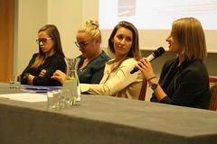Uczestniczki panelu: Patrycja Wyciszkiewicz, Iwona Niedźwiedź, Joanna Fiodorow, Alicja Zając