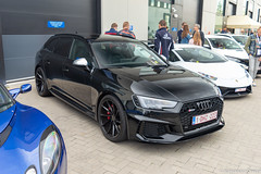 B9 x Vossen (Alessandro_059) Tags: audi rs4 avant b9 black vossen wheels cars coffee knokke