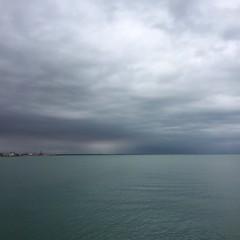 storm si coming (chpaola) Tags: caorle veneto italy sea storm sky landscape cloud autumn sealandscape explore