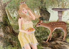 You Got a Friend In Me (Gabriella Marshdevil ~ Trying to catch up!) Tags: sl secondlife halfdeer sorumin cute kawaii doll limerence