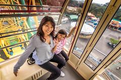 Ferris wheel posers (kellypettit) Tags: ferriswheel rides park parks japan events familytime motheranddaughter goodtimes memories preciousmoments