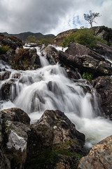 Can you feel the Force (Matts__Pics) Tags: snowdonia wales waterfall torrent river rocks tree mountain