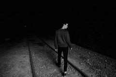(yoann_lht) Tags: photography photographie photo photographymodel photoshoot streetphotography portraitphotography blackwhite noiretblanc street urbex factory usine train trainline dark light melancholy