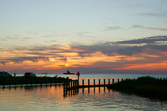 Carolina skies (sturner404) Tags: sunset hatteras northcarolina sound clouds water sky october 2018 sony a6300