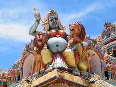 Temple Guardian (D-Stanley) Tags: hindu kalikovil trincomalee srilanka