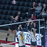 Malie Rube goes up for the kill thumbnail