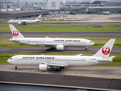 180528 HND-FUK-01.jpg (Bruce Batten) Tags: aircraft airplanes airports buildings businessresearchtrips honshu japan locations occasions riversstreams subjects tokyo transportationinfrastructure trips urbanscenery vehicles