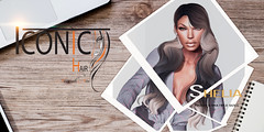 SHELIA_BANNER (Neveah Niu /The ICONIC Owner) Tags: access shelia iconic iconichair neveahniu 3dmesh 3dart zbrush blender photoshop photography