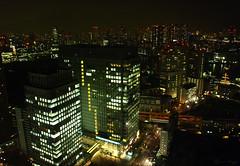 Hamamatsuchō (DameBoudicca) Tags: tokyo tokio 東京 japan nippon nihon 日本 japón japon giappone hamamatsuchō 浜松町 worldtradecenter 世界貿易センタービル night natt nacht notte nuit noche 夜