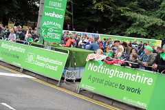 AWP Tour of Britain Mansfield 9 (Nottinghamshire County Council) Tags: tob nottinghamshire cycling race bicycles tourofbritain 2018 notts bike mansfield tour britain