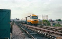 253029 Feeder Road Junction, Bristol, summer 1979 (Bristol RE) Tags: 253029 253 class253 hst feederroadjunction bristol