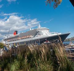 Queen Mary 2 à Québec (vinetala) Tags: a faire cruise ship qm2