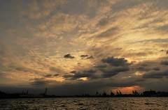 Tokyo bay (namhdyk) Tags: tokyobay evening eveningsky clouds sea canon canonpowershot canonpowershotg7x
