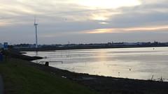 DSCN8833 (DutchRoadMovies) Tags: stevinsluizen afsluitdijk den oever a7 rijksweg ijsselmeer waddenzee bridge lake freeway motorway water sea locks