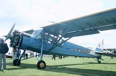 1948 Morane Saulnier MS.505 F-BARP - PFA Rally 1985 - Cranfield (anorakin) Tags: 1948 moranesaulnier ms505 fbarp pfarally 1985 cranfield