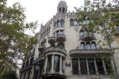 Casa Lleo Morera 1 (smallritual) Tags: barcelona catalunya spain casalleomorera domenechimontaner modernisme blockofdiscord