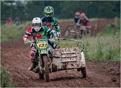 Last Lap (Hugh Stanton) Tags: duo cycle track mud