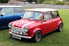 1992 Rover Mini K440DHK Brands Hatch Mini Festival 2018 (davidseall) Tags: 1992 rover mini k440dhk k440 dhk car classic old shape style original red brands hatch festival 2018