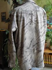 chemise grise shib dos