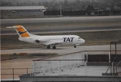 F-BUTI Fokker F-28 Fellowship TAT (graham19492000) Tags: fbuti fokkerf28 fellowship tat