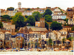 View from the Ferry, Falmouth Harbour, Cornwall (photphobia) Tags: falmouthharbour harbour falmouth cornwall town uk oldtown oldwivestale outdoor outside