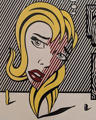 """""""Blonde"""", Roy Lichtenstein (1978) (Joey Hinton) Tags: sanfrancisco california unitedstates museum modern art roy lichtenstein google pixel2 andriod smartphone cellphone cameraphone phone"""