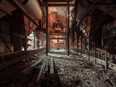 • Spoil the thieves (Woven Eye) Tags: industrialdecay rustyanddusty abandonedsteelplant x1d insoliteplace darktourism