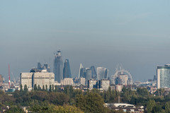 CIty View from pagoda (Derek N Winterburn) Tags: places unitedkingdom middlesex kewgardens