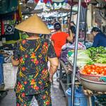 Local Vietnamese Woman at a Market in Chinatown Saigon thumbnail